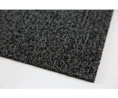 Nicoman Felpudo Alfombrilla para Trampero de Barrera, Tapete de Piso Resistente - (Usar en Interiores y Exteriores) - Medio (75x44cm), Carbón