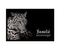 Tapis Déco - 1740314, Tapete De Entrada Rectangulo , 40 X 60 Cm , Panthera , Photoprint