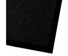 Alfombras Entrada decoración casa - Felpudo Original y Divertido | Tapete Exterior o Interior tamaño | Lavable | Vinilo (Negro, 200x400 cm)