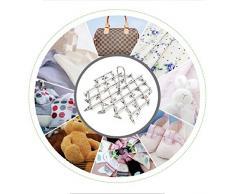 Ropa de lavandería de acero inoxidable ropa secado percha, multi función plegable portátil de viaje colgante rack gancho, 35 clips para calcetines,ropa de bebé u otros pequeños artículos delicados