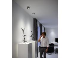 Philips Ledino Plafón 31610/17/16 - Lámpara (Dormitorio, Salón, Cromo, Aluminio, LED, 2700K, Blanco cálido)