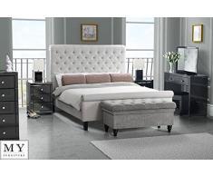 My-Furniture - Veneciano negro vidrio alto brillo espejo tocador consola + triple plegable espejo tocador + taburete