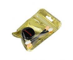 Happy-day Uñas postizas,Uñas Accesorios Decoracion,Mujeres Espejo Efecto EN Polvo Uñas de Cromo Pigmento Gel Polaco DIY Oro (1.5g, Oro)