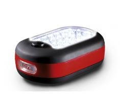 AEG 97192 LM 324 - Linterna pequeña (24 + 3 LED, con imán de sujeción y gancho plegable)