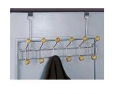 Compactor - Perchero para puerta (12 ganchos, acero)