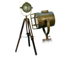 Lámpara trípode para suelo estilo foco vintage