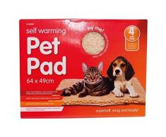 AUTOCALENTAMIENTO Térmico Perro gato cachorro animal mascota Cálido Calor Lavable Tapete Cama