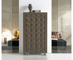 Zapateros de Diseño Moderno : Modelo MILAN 74x136x37