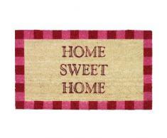 Novelty Home Sweet Home - Felpudo (fibra de coco y PVC, 40 x 70cm), diseño con texto Home Sweet Home