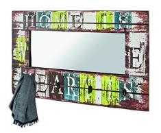 Haku Möbel Perchero de Pared, Metal, Beige