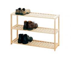 Premier Housewares - Zapatero (madera, 55 x 79 x 27 cm, 3 estantes)