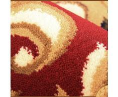 ZZHF Alfombra de puerta semicircular en el piso Alfombras europeas Escalera Alfombra 3 colores disponibles 79 * 117cm alfombras de habitacion ( Color : A )