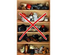 Wenko Zapatos Soporte, Stapler, bajo Set 16 Unidades