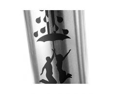 paragüero de acero galvanizado, modelo pareja - A