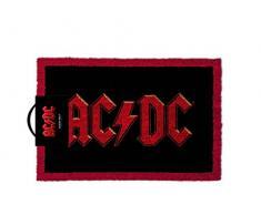 AC/DC Logo Felpudo, fibra de coco), multicolor