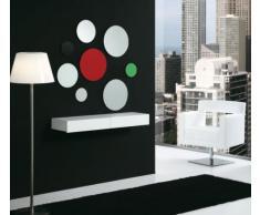 Tecnocubo Systems - Cajón/recibidor lois, medidas 90 x 30 x 12 cm, color blanco