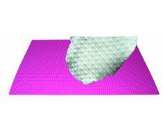 WMAT03 Tapete de silicona para decoración pois, color fucsia
