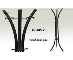 Suska - Perchero de pie metalsuska 1020 - 8949720 - perchero moderno de colorcon varios ganchos(175x58cm)