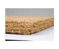 Dandy tradicional 75 x 45 cm/Felpudo fibra de coco resistente, Natural