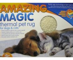 Tapete Térmico Mágico Increíble Para Mascotas Perros Gatos Autocalentamiento Lavable Para Viajes 64 X 46cm