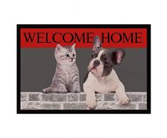 Tapis Déco - 1740310, Tapete De Entrada Rectangulo, 40 X 60 Cm, Welcome Home, Photoprint