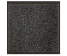Déco Tapis - 1740298, Tapete Atrapapolvo Rectangul , 80 X 120 Cm , Uni , Alfombra De Entrada , Gris