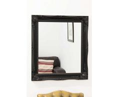 Frames by Post Espejo de Estilo Antiguo Color Negro Shabby Chic – 66 cm x 76 cm tamaño Ovalado (65 cm x 75 cm) – TV Show suministrador sólo Disponible de Shabby Chic Espejos