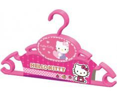 Hello Kitty 20421 0009 65 - Set Perchas Para Ropa De Bebé (3 Unids.) Rosa