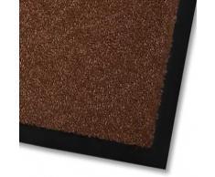 casa pura Alfombras Entrada casa - Alfombras de Vinilo   Felpudo Mono   Tapete Exterior o Interior   Lavable   Diversos Colores (Marrón, 60x90 cm)