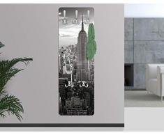 Perchero - Manhattan Skyline 139x46x2cm, percheros, perchero de pared, perchero pared, percheros pared, percheros modernos