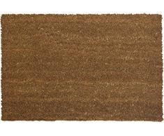 ID mate 406015p Uni Natural alfombra Felpudo fibra coco/PVC Beige 60 x 40 x 1,5 cm)