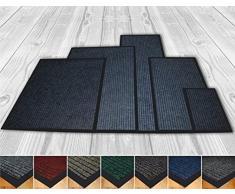 Alta calidad Deluxe extra grande (100 x 150 cm) color gris acanalado Doormats. Se puede lavar a máquina. Alfombra de puerta de entrada adecuado cocina Doormats, entrada mats, lavable alfombrillas, oficina alfombrillas, – Felpudo