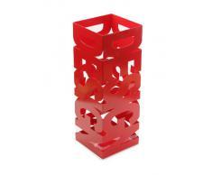 Versa 20200103 Paragüero Design, Metal y plástico, Gris, 52 x 19 x 19 cm