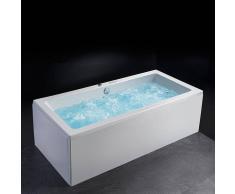 Entorno Baño Bañera Hidromasaje Cromoterapia BONDI, 12 HIDROJETS y 8 BLOWERS