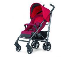 Chicco Lite Way2 - Silla de paseo ligera y compacta, 7 kg, color rojo