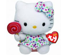 Hello Kitty - Peluche piruleta, 15 cm (United Labels 40961TY)