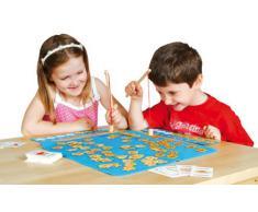 Games & Puzzles - Juguete educativo de idiomas (Fiesta Crafts 83-7SLI-4RW7) (versión en inglés)
