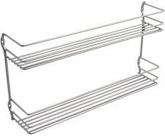 Metaltex PEPITO - Estantería especiero de 2 niveles, 36x8x19 cm