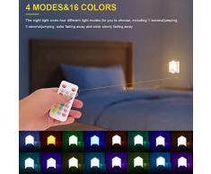 Nexmon Luz Nocturna Infantil, Luz de Noche para Niños con Luz de Sensor, Modo de Memoria, Control Remoto
