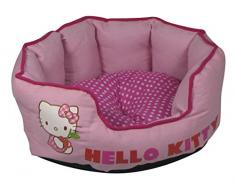 Hello Kitty Mascota Cama, 44 cm, Color Rosa