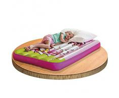 Hello Kitty - Cama de aire infantil, 88 x 157 x 18 cm, color rosa (Intex 48775)