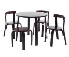 Svan - Mesa y sillas infantiles en madera