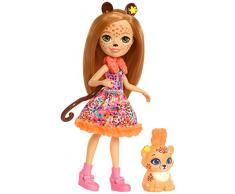 Enchantimals Muñeca con mascota Cheris Cheetah (Mattel FJJ20)