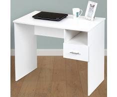 infantastic escritorio infantil con gran cajn color blanco