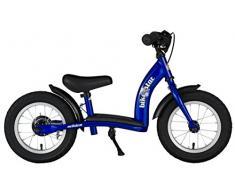 BIKESTAR® Premium 30.5cm (12 pulgada) Bicicleta sin pedales para niños de 3 años ★ Edición Clásico ★ Azul