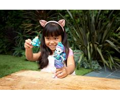 Enchantimals - Patter Peacock y Flap, muñeca con mascota (Mattel FXM74)
