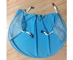 SODIAL cochecito de bebe parasol Carriage Sun Shade Toldo cubierta para Cochecitos Cochecitos Accesorios Coche Azul