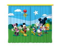 Cortina de diseño AG FCC xxl 4008/cortinas decorativo Disney Mickey Mouse