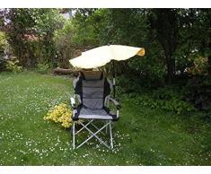 NEU - DAS regalo STABIELO - Mat head-amortiguado - silla plegable REISE-SET - sombrilla STABIELO grasekamp sunny - Camping - tiempo libre de la playa de la pantalla - Fácil de alta protección UV + sombrilla EINDREHBARER - colour