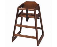 Trona de juguete de madera, auscultación silla alta, Baby asiento-Ideal para comerciales o uso doméstico